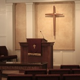 Pulpit and Cross